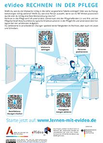 """Vorschau Plakat eVideo """"Rechnen in der Pflege"""""""